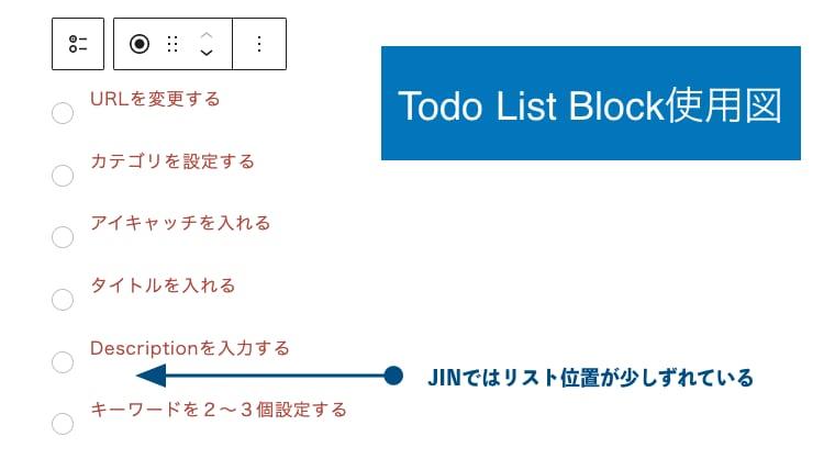 Todo List Block
