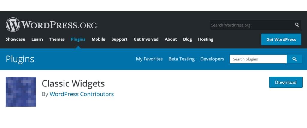 official wordpress plugin site