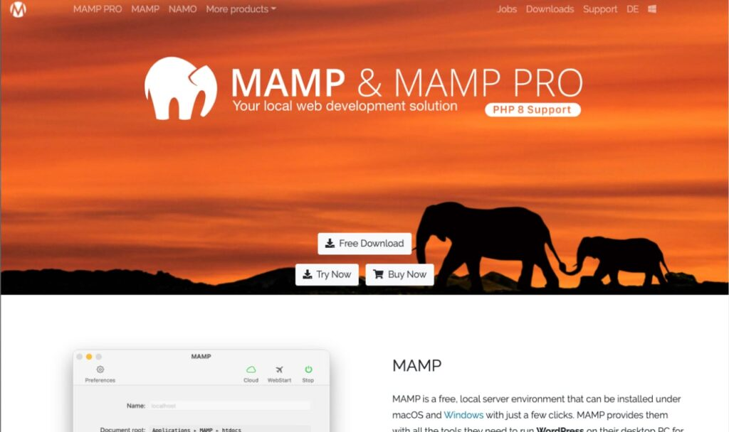 Mamp-Cover